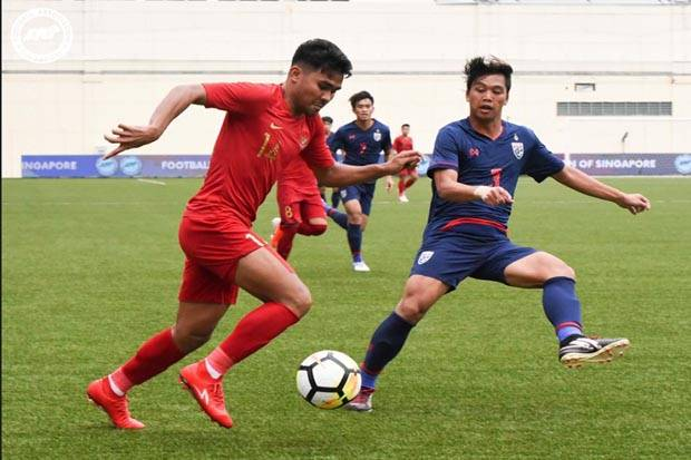 Dibungkam Thailand, Timnas U-23 Indonesia Gagal ke Final Piala Merlion 2019