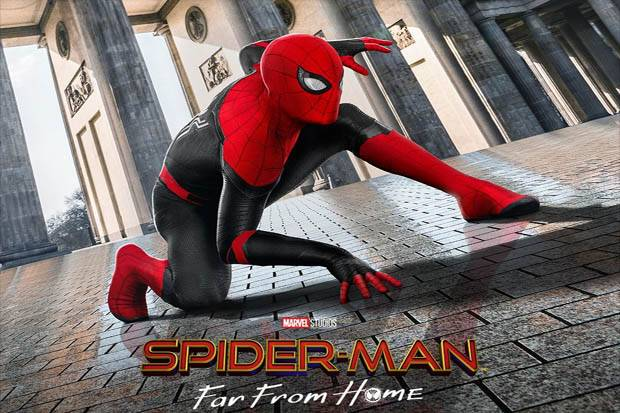 Peter Parker Bikin Kostum Baru Spider-Man di Far From Home