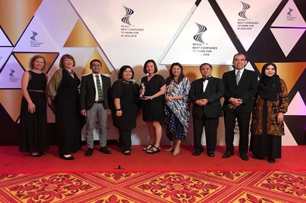 280 Perusahaan Bersaing Rebut Best Company to Work For in Asia
