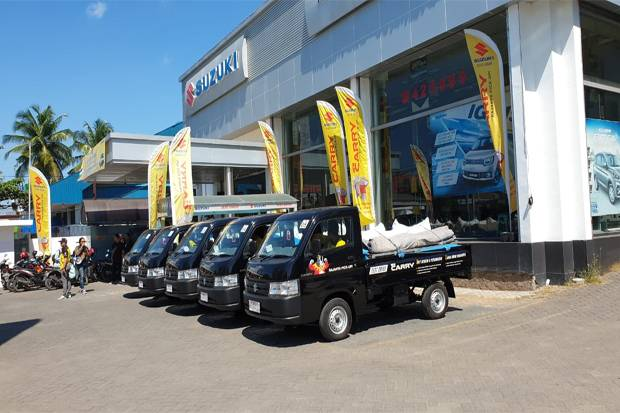 Suzuki New Carry Pick-up Uji Performa di Makassar