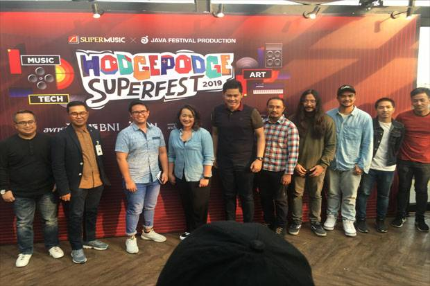 The Used Siap Meriahkan Hodgepodge Superfest 2019 di Ancol