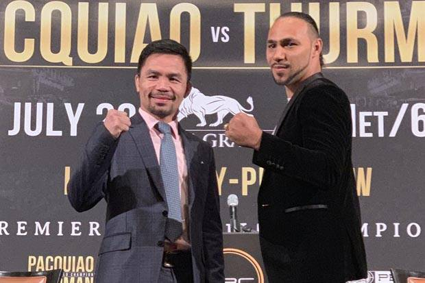 Manny Pacquiao vs Keith Thurman: Tale of Tape