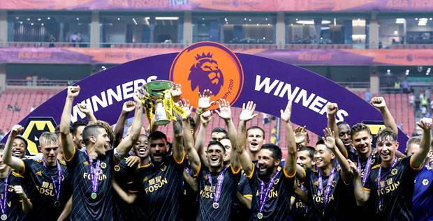 Kalahkan Manchester City, Wolves Juara Premier League Asia Trophy