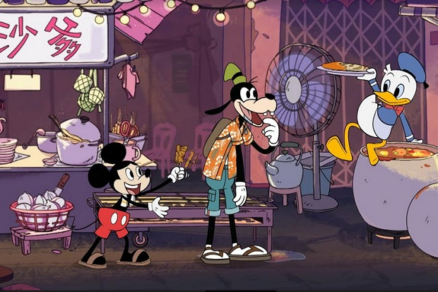 Disney Kenalkan Film Animasi Pendek Mickey Go Local