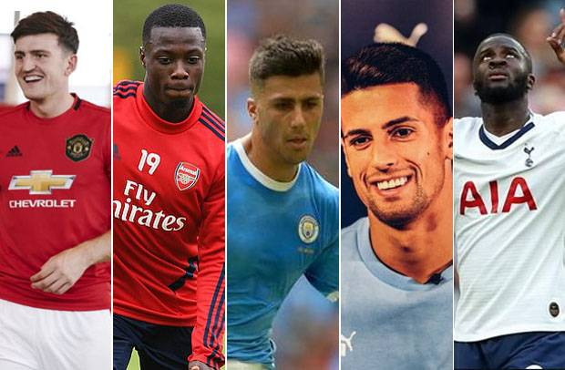 The five most expensive players in the Premier League in 2019/2020