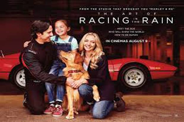 Amanda Promosi The Art of Racing in the Rain Bersama Nina