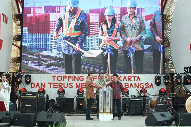 Meikarta Lakukan Topping Off Apartemen District One
