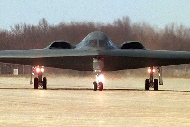 US Air Force Deploys B-2 Nuclear Capable Stealth Bombers in England