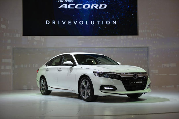 All New Honda Accord Sabet Penghargaan CEC 2019
