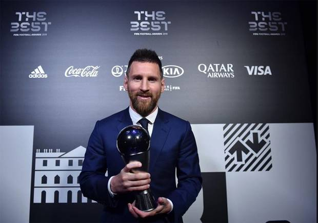 Lionel Messi Rebut Penghargaan The Best FIFA 2019