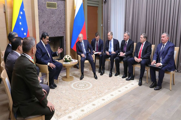 Maduro to Depart for Russia, Plans Meeting With Putin