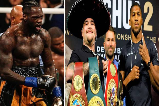 Rematch Anthony Joshua vs Andy Ruiz Penentu Nasib Deontay Wilder