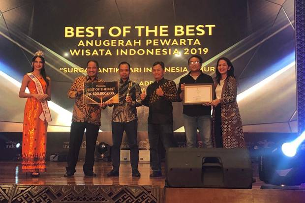 Program Travel Addict GTV Raih Best of The Best APWI 2019