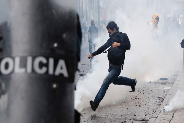 State of Emergency Declared in Ecuador Amid Mass Protests