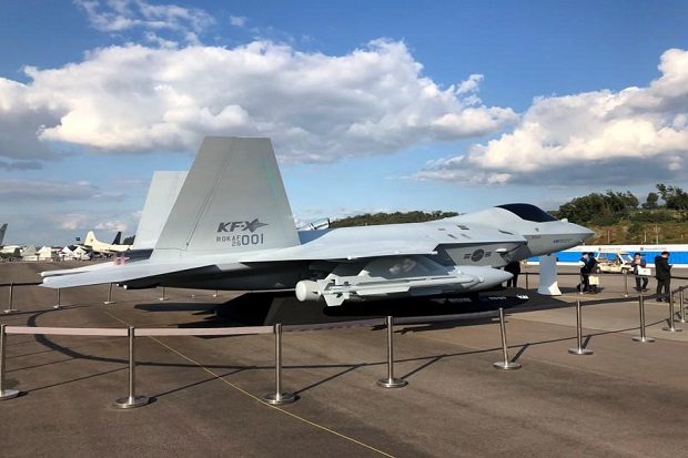 Dikembangkan Indonesia-Korsel, Ini Mock-up Jet Tempur KF-X/IF-X