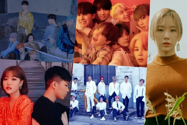 Monsta X dan Super Junior Puncaki Tangga Lagu Korea