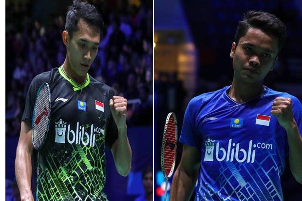 Anthony vs Jonatan Perang Saudara, Indonesia Amankan Tiket Final