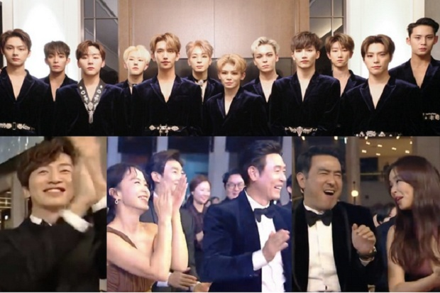 Tampil di Blue Dragon Film Awards, SEVENTEEN Raih Standing Ovation
