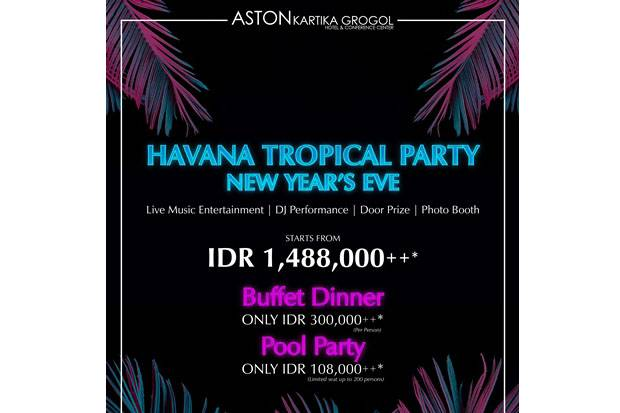 Nikmati Havana Night di Aston Kartika Grogol Hotel & Conference Center