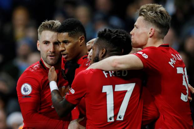 Derby Manchester, United Sukses Pecundangi City