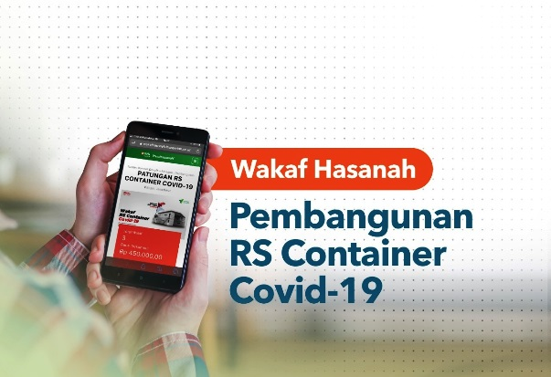 Yuk, Wakaf Buat RS Container COVID-19