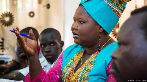 Peace is the only option: South Sudanese journalist awarded Press Freedom Prize