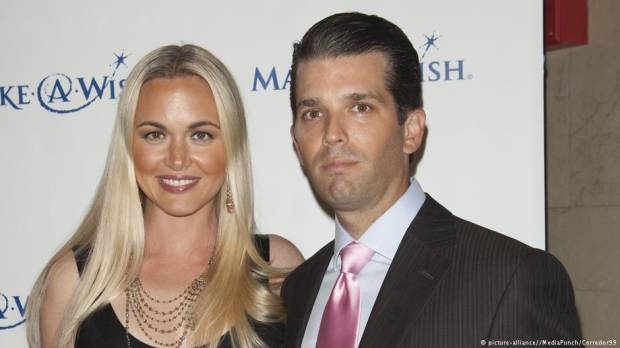 Trump Jr. wife taken to hospital after white powder found in envelope
