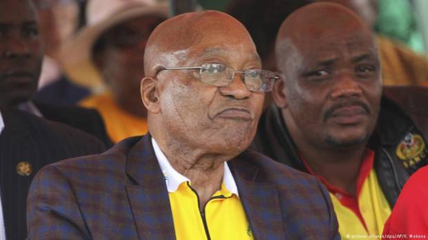 South Africas ANC decides to remove Jacob Zuma as president