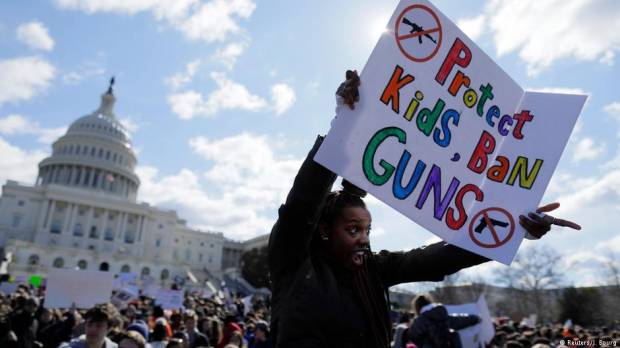 California teacher accidently fires gun in classroom during safety demonstration