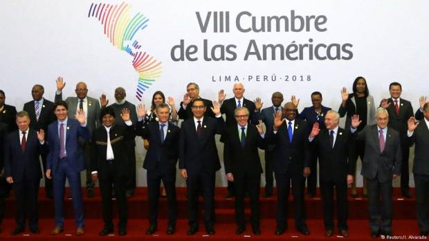 The Summit of the Americas warns Venezuela about upcoming election