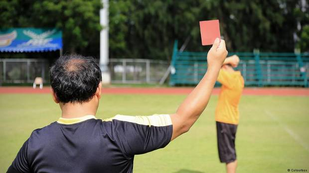 Fijian soccer player suspended after alleged racial abuse of white referee