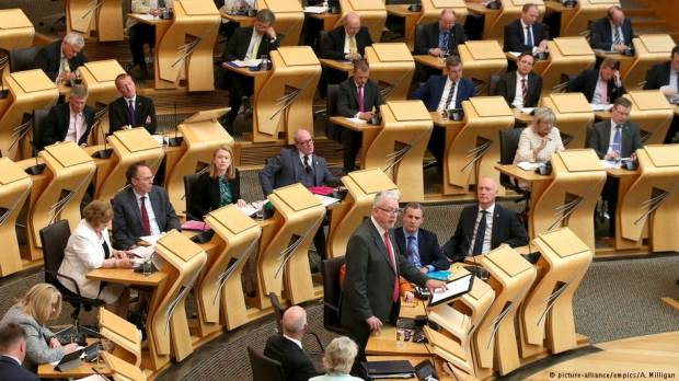 Scotland refuses to green light Brexit bill, setting up constitutional clash