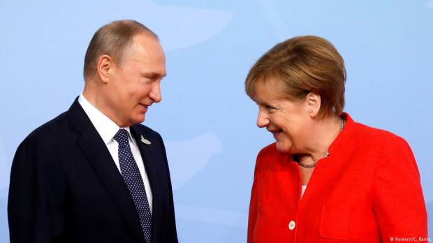 Merkel-Putin talks: Russia keen to find common ground