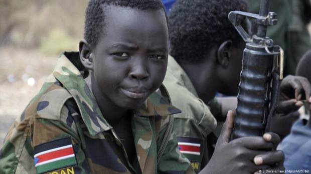 South Sudan: More than 200 child soldiers released, UN says