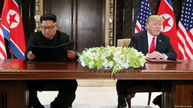 Donald Trump-Kim Jong Un summit: North Korea commits to complete denuclearization