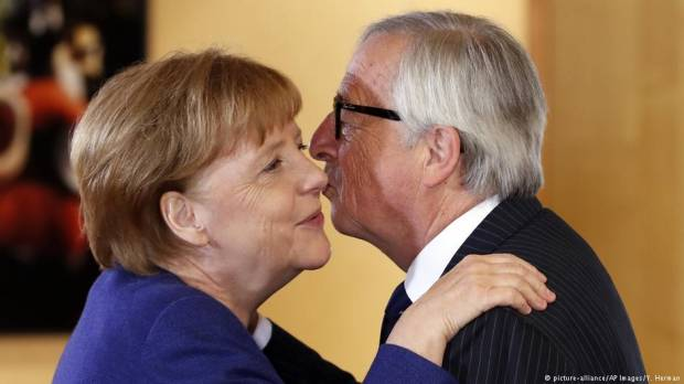 Jean-Claude Juncker: Germany has EU presidents back despite NATO stumbling