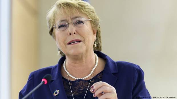 Chiles Michelle Bachelet tapped next UN human rights chief