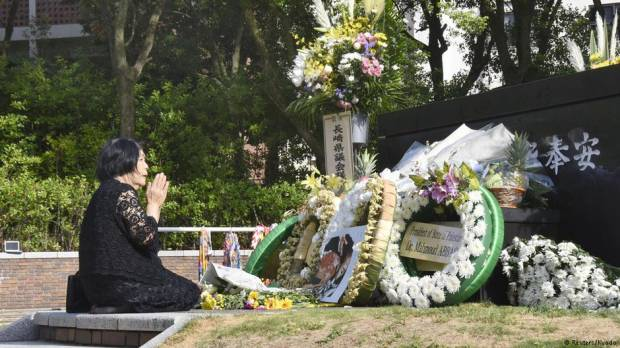Nagasaki remembers atomic bomb victims 73 years on