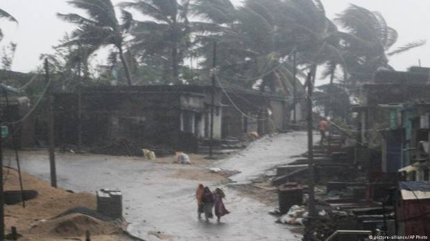 Deadly Cyclone Titli pounds eastern India