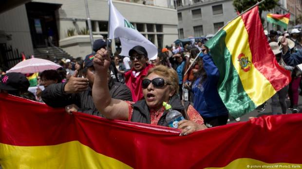 Bolivians protest after Supreme Court allows President Evo Morales to run for fourth term