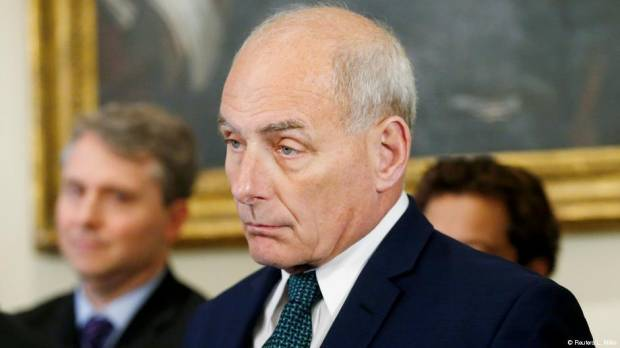 White House Chief of Staff John Kelly to quit Trump administration