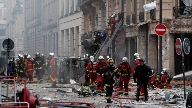 Paris: Multiple fatalities after explosion at bakery