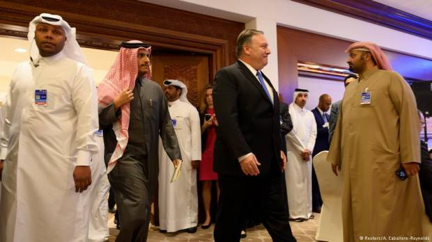 US secretary of state in Qatar urges end to Gulf diplomatic rift