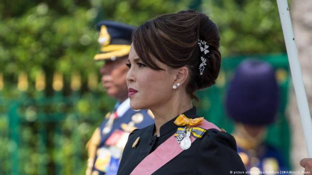 Party of Thai princess faces ban after kings condemnation