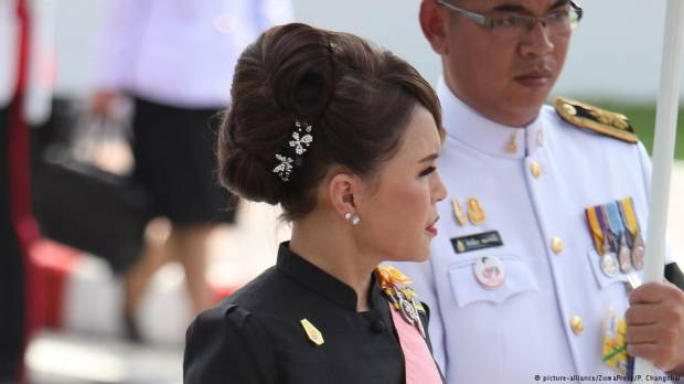 Thai princess disqualified as candidate for prime minister