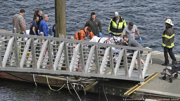 Seaplanes collide off Alaskas coast near Ketchikan
