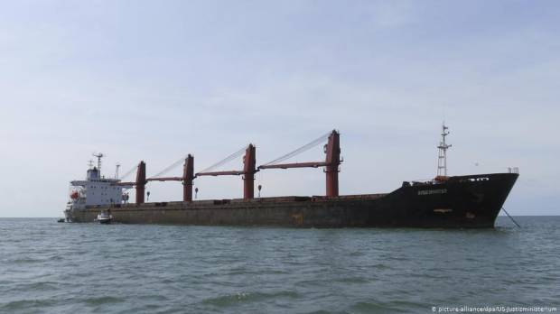 North Korea describes US impounding of vessel as robbery