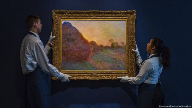 Claude Monet painting sells for record $110.7M at auction