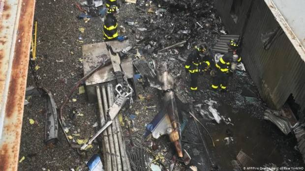 Manhattan helicopter crash pilot breached certification: FAA