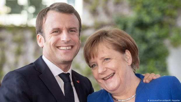 Macron would back Angela Merkel as European Commission president